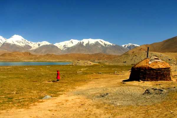 Kyrgyz Yurt at Karakul Lake